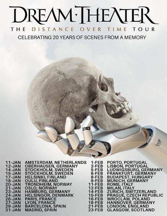 Dream Theater - Distance over Time Tournee EU